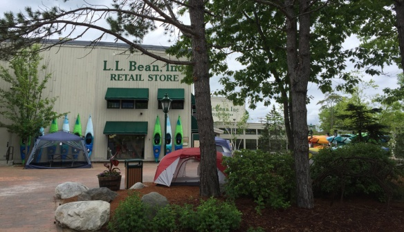 LLBean in Freeport, Maine.