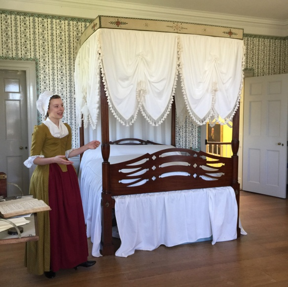 My 5x-great-grandfather Henry Knox's bed.