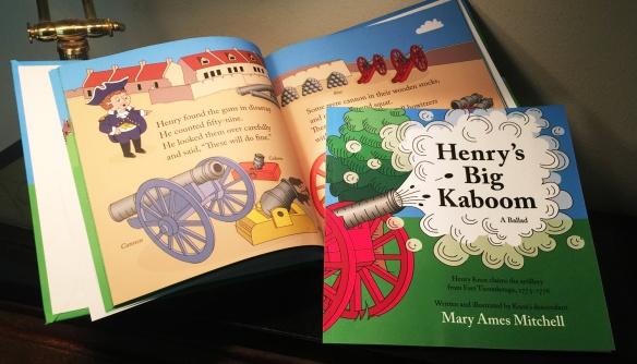 Henry's Big Kaboom Book Image