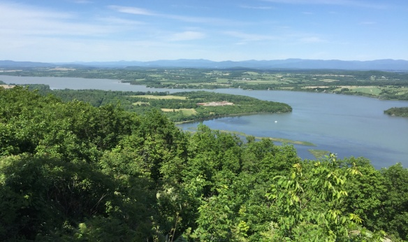 Fort Ticonderoga from Mount Defiance