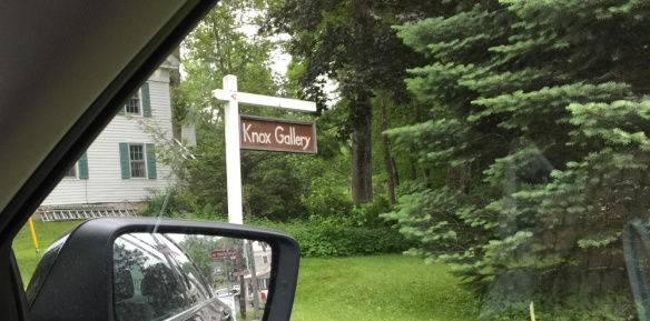 Knox Art Gallery in Monterey, Massachusetts, along the Henry Knox Trail.