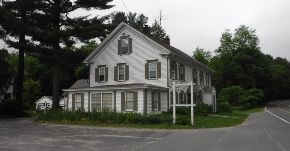 Old inn in Egremont, Massachusetts, where Knox and his men stopped for refreshment on their way through town.