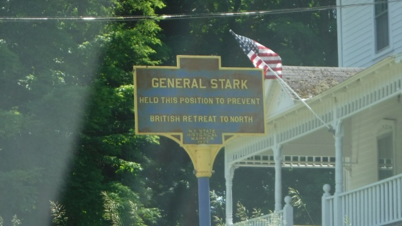 Place where General John Stark of New Hampshire held the British at bay from going north.