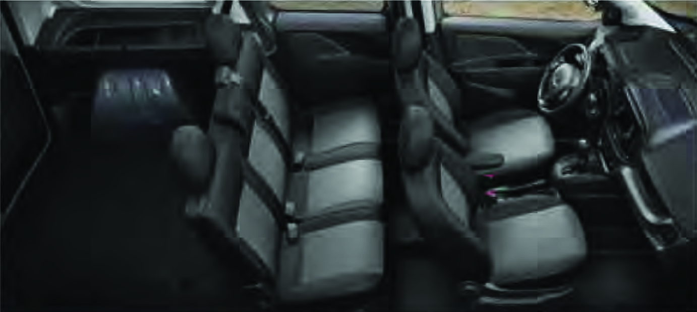 Promaster City w back seats up